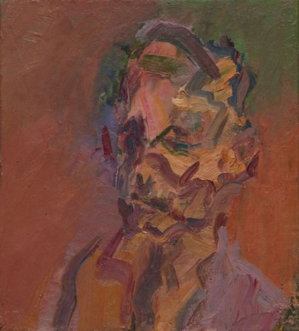Frank Auerbach, Portrait of William Feaver, 2007 , Luhring Augustine