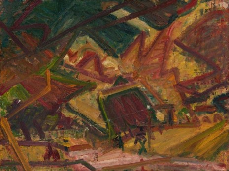Frank Auerbach, Primrose Hill, 1978 , Luhring Augustine