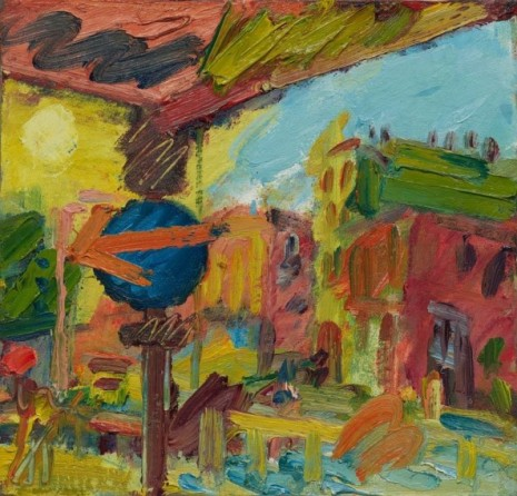 Frank Auerbach, The Awning I, 2008 , Luhring Augustine