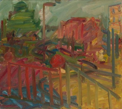 Frank Auerbach, The Last of 'Koko', 2007-8 , Luhring Augustine