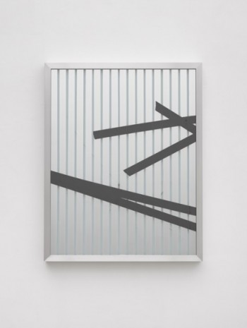 Ryan Gander, By physical or cognitive means (Broken Window Theory 1 July), 2019-2020, Lisson Gallery