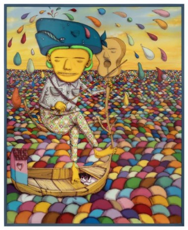 OSGEMEOS, The composer, 2019, Lehmann Maupin
