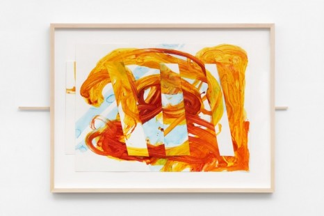 Mark di Suvero, Untitled (sliding drawing), 2003-2004, Galerie Mitterrand