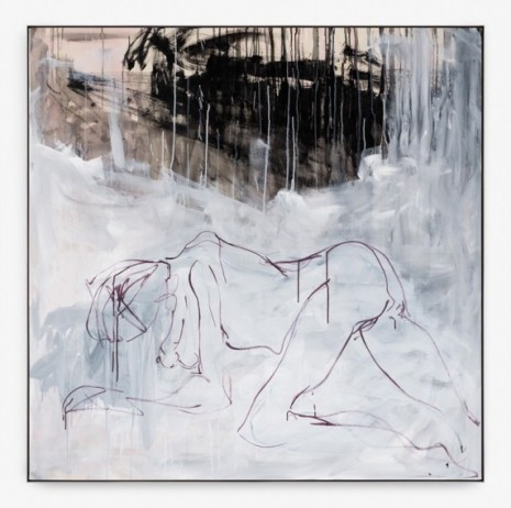 Tracey Emin, I found my way to the lake, 2019, Xavier Hufkens