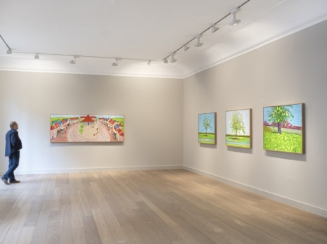 David Hockney, Apple Tree, 2019, Galerie Lelong & Co.