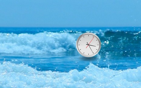 Michael Bell-Smith, Waves Clock, 2012, Foxy Production