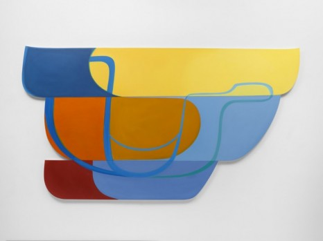 Joanna Pousette-Dart, 3 Part Variation #1, 2010