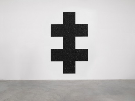 Mary Corse, Untitled (Double Cross), 2020, Lisson Gallery