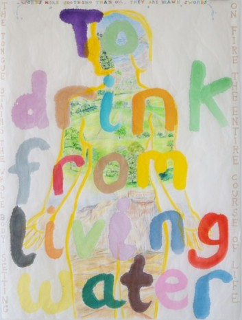 Maria Pask, To drink from living water, 2020, Ellen de Bruijne PROJECTS