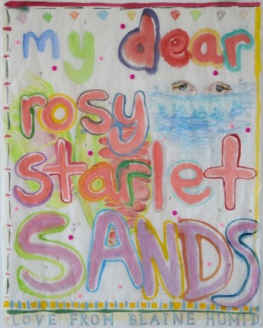 Maria Pask, My dear starlet sands, 2020, Ellen de Bruijne PROJECTS