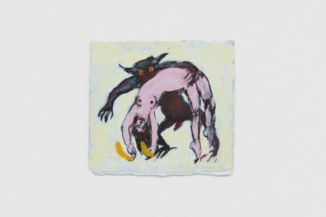 Alexis Hunter, Untitled (Woman and Beast series), I, , Richard Saltoun Gallery