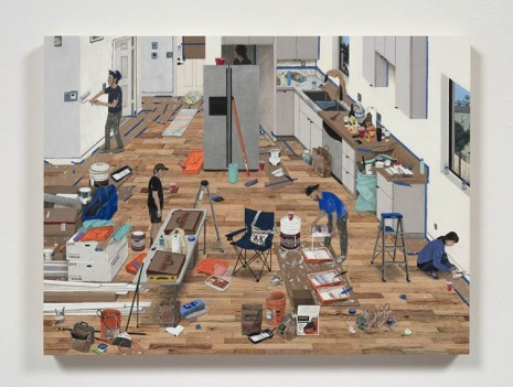 Paige Jiyoung Moon, Painting Day, 2020, Steve Turner