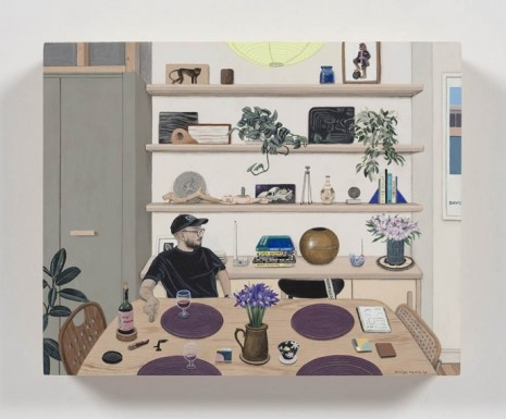 Paige Jiyoung Moon, Carlos With His Shelf, 2019, Steve Turner