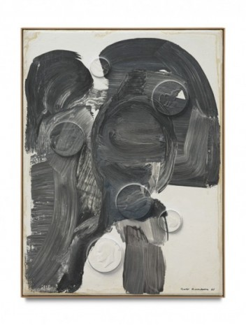 Paul Sietsema, Black and white abstraction, 2020, Matthew Marks Gallery