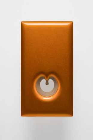 Donald Moffett, Lot 101220 (open orange), 2020, Marianne Boesky Gallery