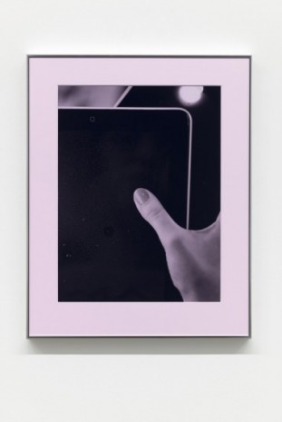 Josephine Pryde, Thumb, Pad (Pink Filter), 2014/2020, Simon Lee Gallery