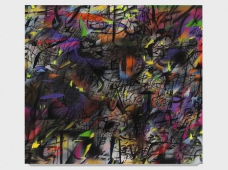 Julie Mehretu, Orient (after D. Cherry, post Irma and summer), 2017-2020, Marian Goodman Gallery
