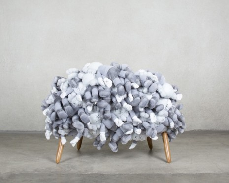KAWS and Estudio Campana, KAWS: Companion Chair (Grey), 2019 , Friedman Benda