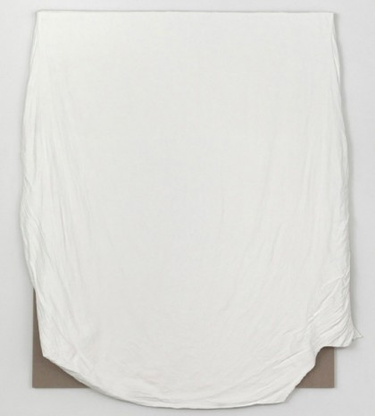 Analia Saban, California King Fitted Bed Sheet with Broken Elastic , 2012, Tanya Bonakdar Gallery