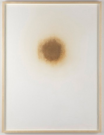 Analia Saban, Burn Hole (Part I) , 2012, Tanya Bonakdar Gallery