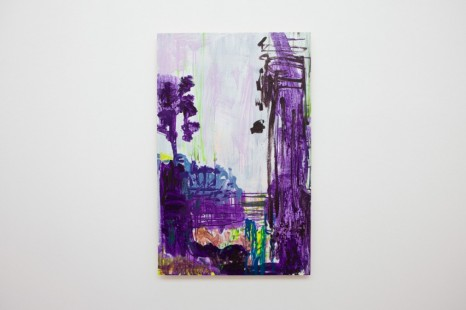 Hayley Tompkins, Purple Passages, 2020, The Modern Institute