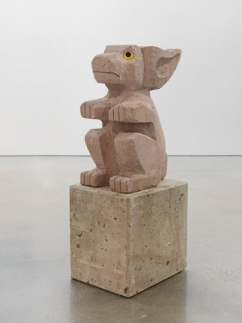 Olaf Breuning, Sad and worried animals / Rabbit, 2020 , Metro Pictures
