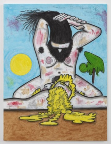 Carroll Dunham, Winners and Losers (3/8), 2019-2020, Gladstone Gallery