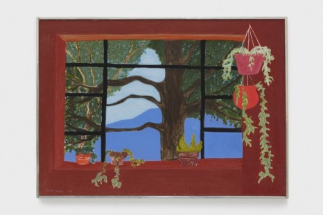 March Avery, Bearsville Window, 1991, Blum & Poe