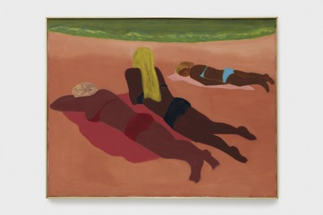 March Avery, Sun Worshippers, 1971, Blum & Poe