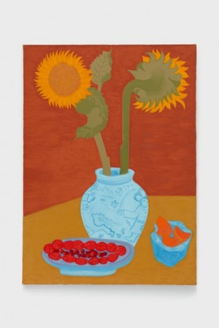 March Avery, Sunflower Bouquet, 1983, Blum & Poe