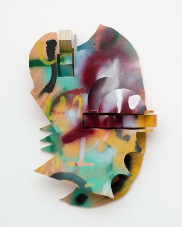 Richard Tuttle, Winter Head, 2020, David Kordansky Gallery