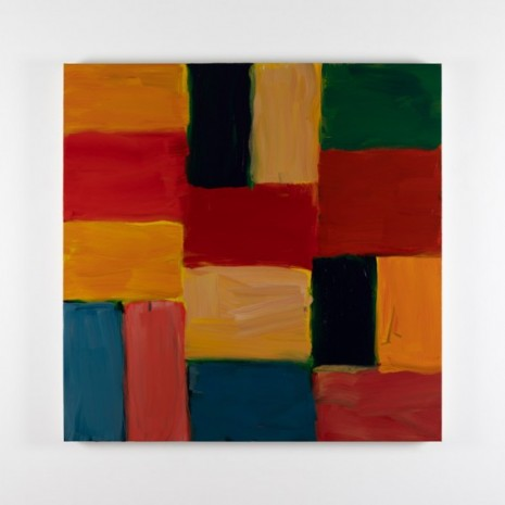 Sean Scully, Wall Red Red, 2020, Kerlin Gallery