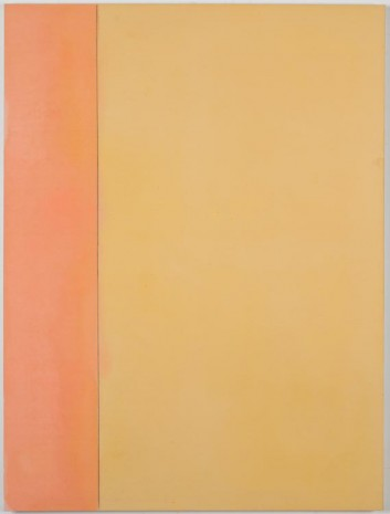 Matt Connors, Thirds (yellow/pink), 2012, Cherry and Martin