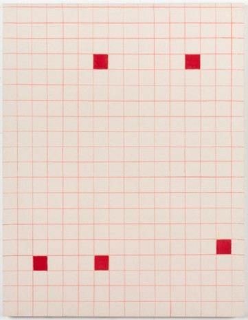 Matt Connors, The Lining, 2012, Cherry and Martin