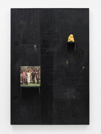Rashid Johnson, 15th of March, 2012, David Kordansky Gallery