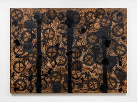 Rashid Johnson, 6th of August, 2012, David Kordansky Gallery