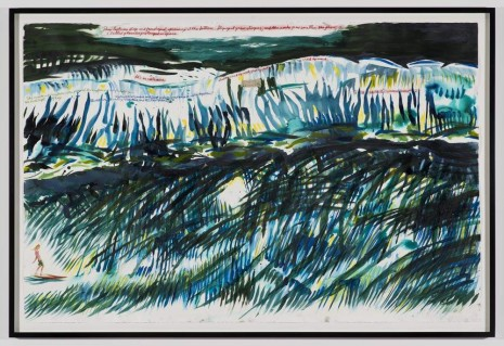 Raymond Pettibon, No Title (This left was), 2012, Regen Projects