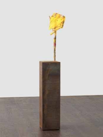 Phyllida Barlow, untitled: yellowsign; 2020 lockdown 16, 2020 , Hauser & Wirth
