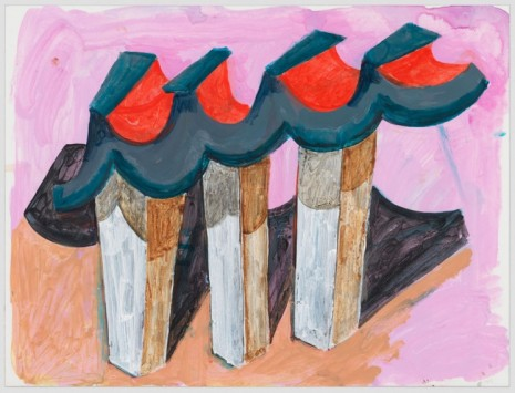 Phyllida Barlow, untitled: ceremonial monument; 2020, 2020 , Hauser & Wirth