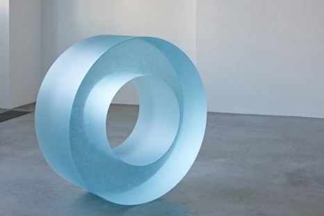 Ann Veronica Janssens , Blue Glass Roll 405/2, 2019 , Simon Lee Gallery