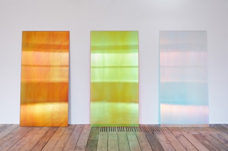 Ann Veronica Janssens , CL2BK, Pinky Sunset R, CL2 Blue Shadow, 2019-2020 , Simon Lee Gallery