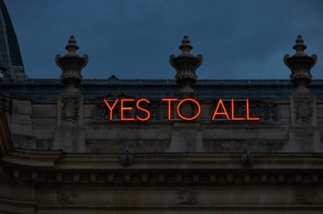 Sylvie Fleury, Yes To All, 2009 , Galerie Thaddaeus Ropac