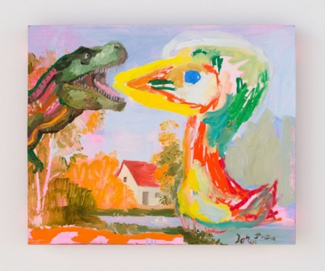 Tursic & Mille, the encounter (after Asger Jorn 1959), 2020 , Almine Rech