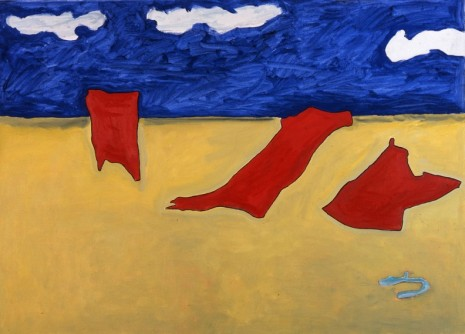 Raoul De Keyser, Three Scarecrows in a Gale, 2006 , David Zwirner