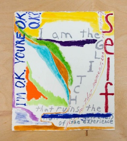Chris Johanson, I Am (OK) The Glitch (OK), 2020-21 , The Modern Institute