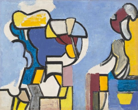 Nell Blaine, Abstraction, 1948–9