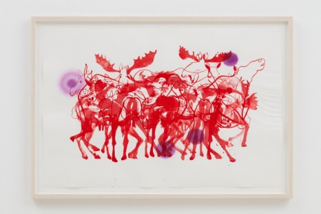 Brian Jungen, Moose Seduction, 2021, Casey Kaplan