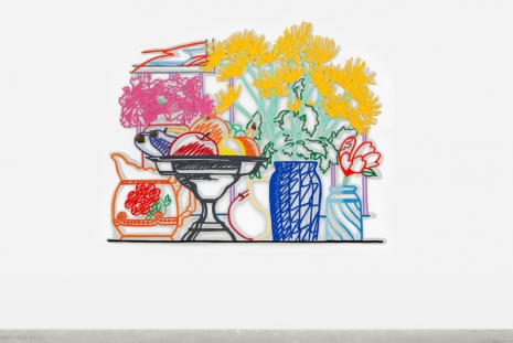 Tom Wesselmann, Still Life with Fuji Chrysanthemums (Double Layer), 1985/92 , Almine Rech