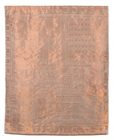 Analia Saban, Copper Tapestry (Computer Chip, TMS 1000, Texas Instruments, 1974), 2019 , Sprüth Magers