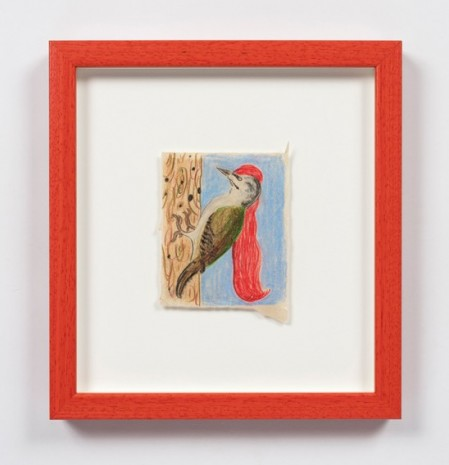 Kevin McNamee-Tweed, Long Red Haired Woodpecker, 2020 , Steve Turner
